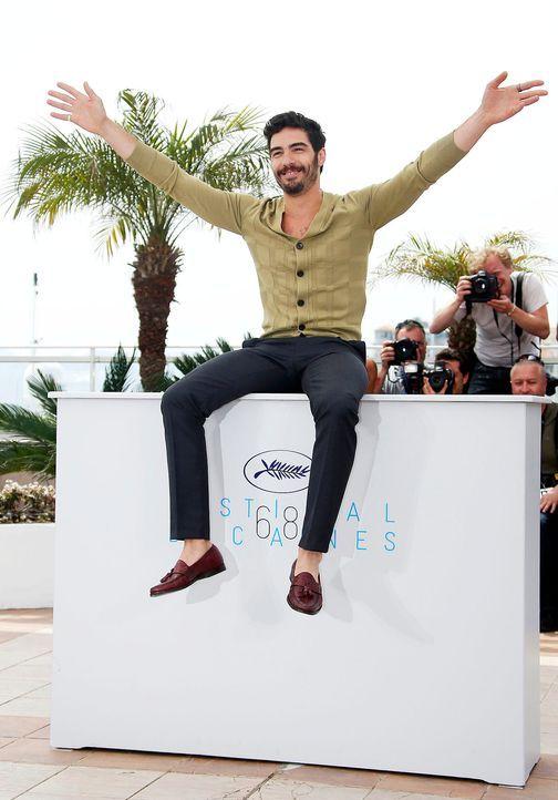 Cannes-Film-Festival-Tahar-Rahim-150514-dpa - Bildquelle: dpa