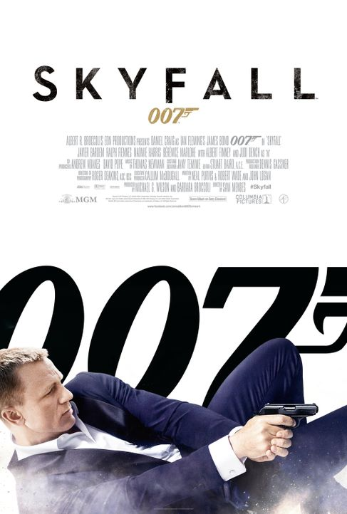 JAMES BOND 007: SKYFALL - Plakat - Bildquelle: Skyfall   2012 Danjaq, LLC, United Artists Corporation and Columbia Pictures Industries, Inc. All rights reserved.