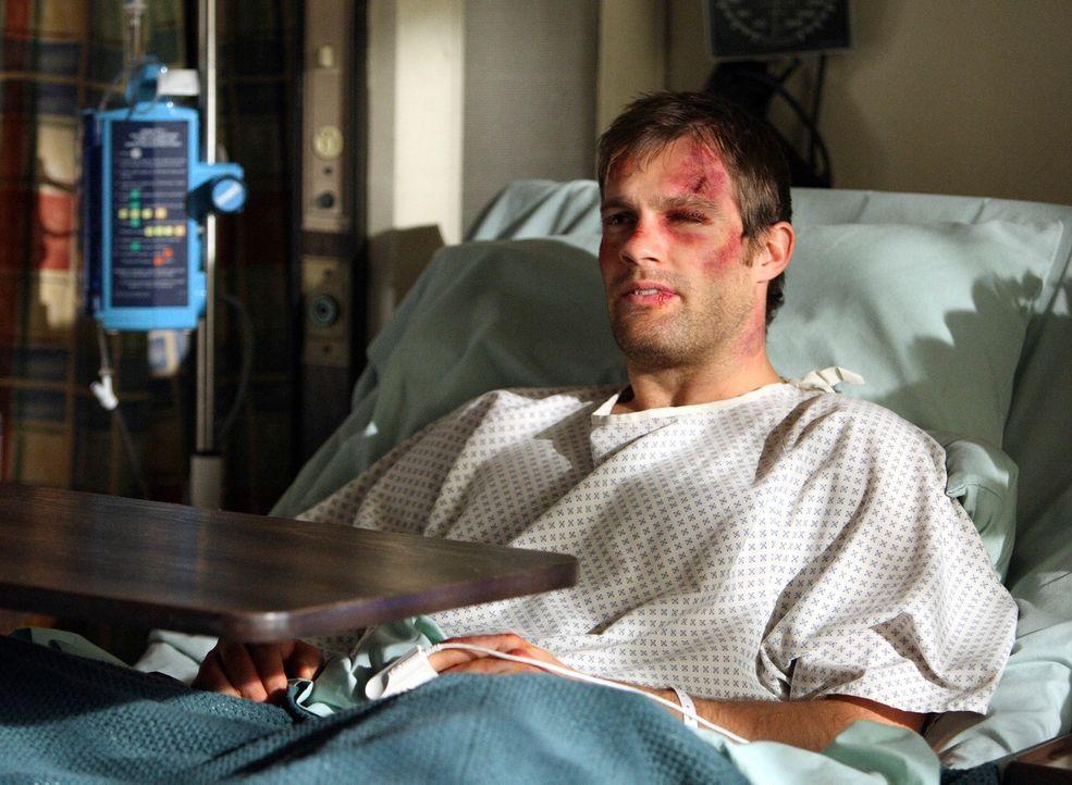 Was hat Janet zu sagen, dass Eddie (Geoff Stults) die Worte fehlen? - Bildquelle: ABC Studios