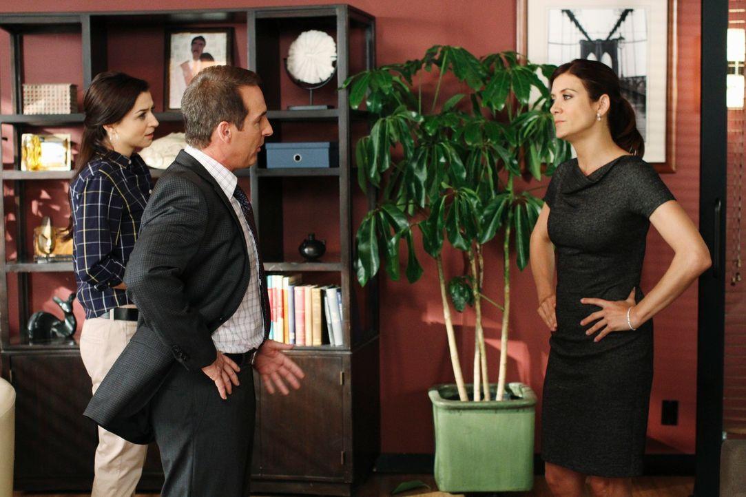 Sind nicht gleicher Meinung, was das Vorgehen bei einem Fall betrifft: Addison (Kate Wash, r.), Amelia (Caterina Scorsone, l.) und Sheldon (Brian Be... - Bildquelle: ABC Studios