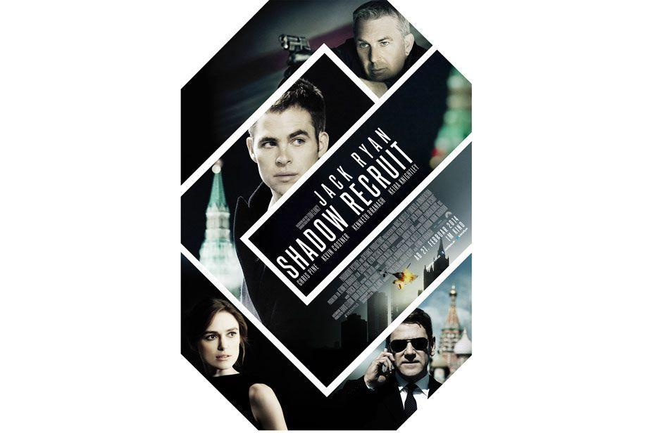 Jack Ryan: Shadow Recruit: Exklusives (4. - 6.11.) deutsches Poster - Bildquelle: Paramount