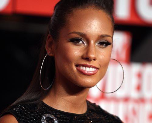 Galerie: Alicia Keys - Bildquelle: Getty - AFP
