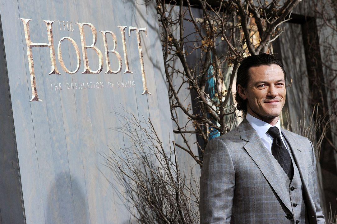 The-Hobbit-Premiere-LA-Luke-Evans-131202-2-getty-AFP - Bildquelle: getty-AFP