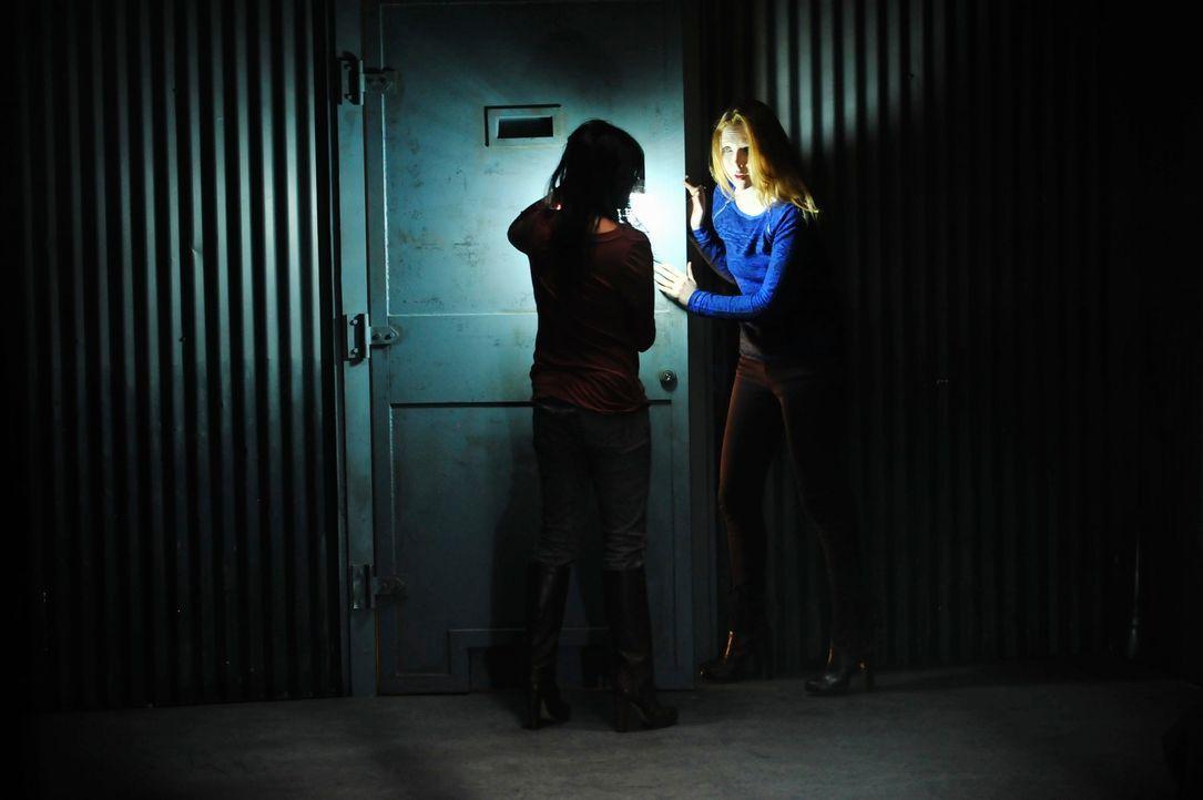 Die Entführer haben es eigentlich auf Sara El-Masri (Karen David, l.), die Tochter eines reichen Geschäftsmannes, abgesehen, doch ehe sich Alexis Ca... - Bildquelle: 2013 American Broadcasting Companies, Inc. All rights reserved.