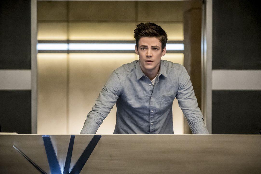 Nachdem Barrys (Grant Gustin) Kräfte durch ein Metawesen auf Iris übertragen wurden, muss er als Teamleader fungieren, während Iris als schnellste F... - Bildquelle: 2017 Warner Bros.