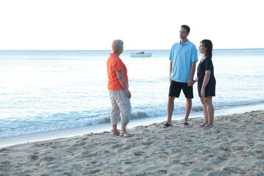 Lee (m.) und Lana (r.) wollen ihr Leben ändern und nach St. Croix ziehen, doc...