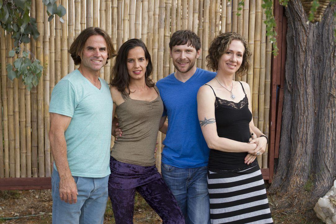 (2. Staffel) - Die Höhen und Tiefen des Alltags warten auf Michael (l.), Kamala (2.v.l.), Tahl (2.v.r.) und Jen (r.) ... - Bildquelle: Showtime Networks Inc. All rights reserved.