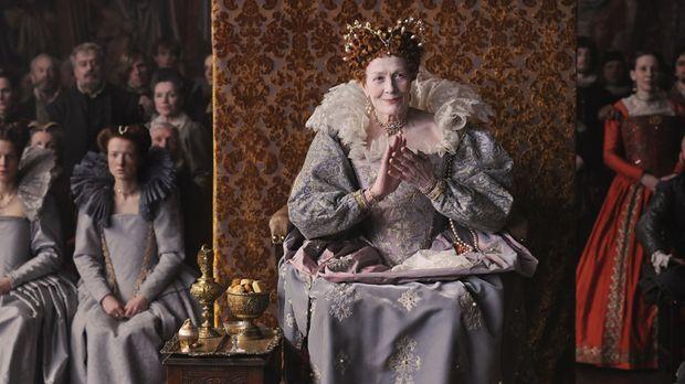Selbst im hohen Alter hatte Königin Elizabeth I. (Vanessa Redgrave) ein ausge...