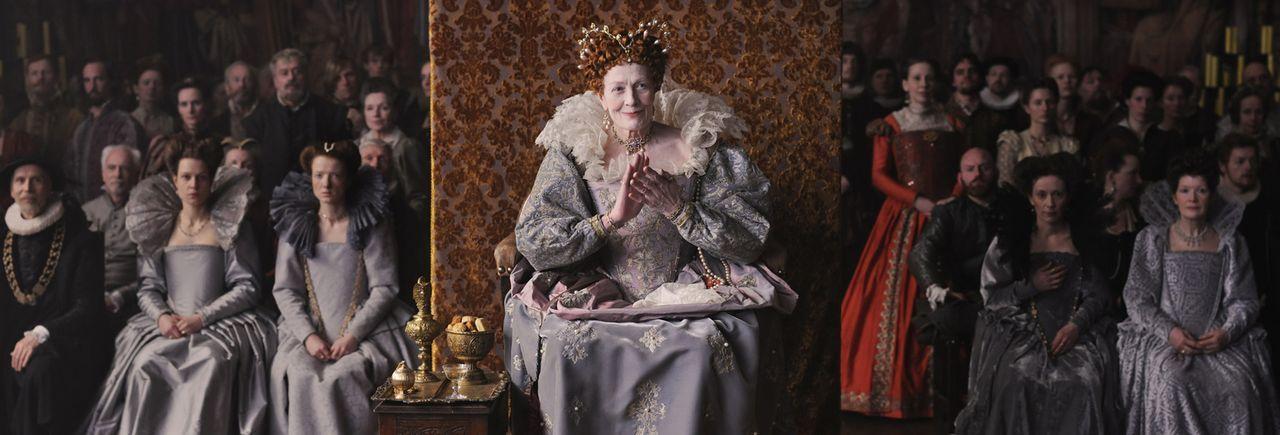 Selbst im hohen Alter hatte Königin Elizabeth I. (Vanessa Redgrave) ein ausgeprägtes Gespür für eine theatralische Präsentation ihrer Herrschermacht... - Bildquelle: Reiner Bajo 2011 Columbia Pictures Industries, Inc. and Beverly Blvd LLC. All Rights Reserved.