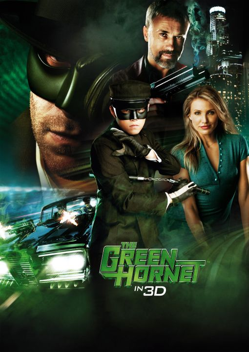 THE GREEN HORNET - Artwork - Bildquelle: The Green Hornet, related characters and hornet logo ? &   2011 The Green Hornet, Inc. All Rights Reserved.