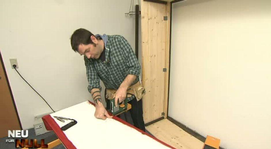 Neu Für Null   Video   Wohnprofi Tipp: Stoffbezug Für Den Schrank    Kabeleins
