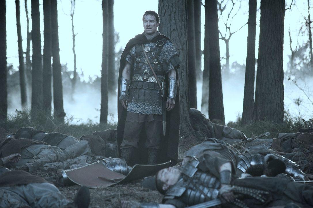 Die gesamte 9. Legion wurde in einen Hinterhalt gelockt. Nur Quintus Dias (Michael Fassbender) und sechs weitere Kämpfer haben das Massaker überlebt...