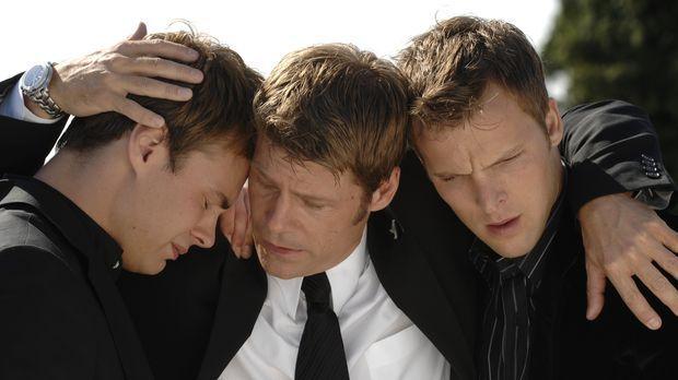 Das Promicin und dessen Auswirkungen stellt Shawn (Patrick Flueger, l.), Tom...