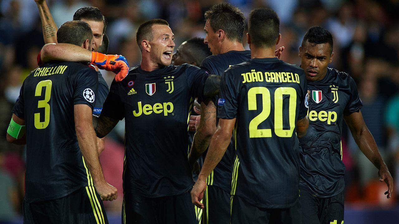 Platz 3: Juventus Turin - Bildquelle: 2018 Getty Images
