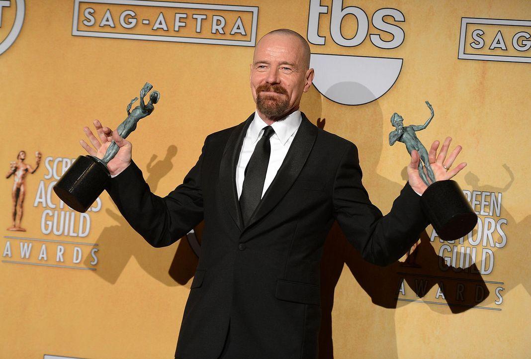 screen-actors-guild-awards-bryan-cranston-13-01-27-getty-afpjpg 2100 x 1420 - Bildquelle: getty-AFP