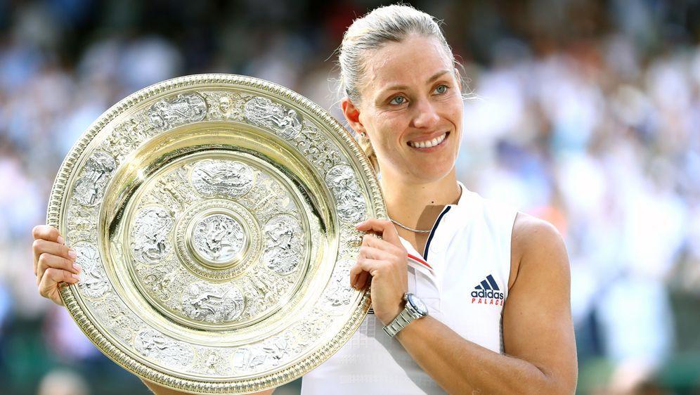 Angelique Kerber gewann den ersten deutschen Wimbledon-Titel seit 1996. - Bildquelle: 2018 Getty Images