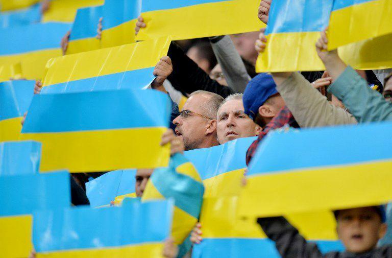 Ukraine_Fans-05-160429-AFP - Bildquelle: AFP