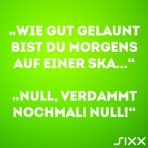 Visual Statements: Morgenmuffel - Bildquelle: sixx