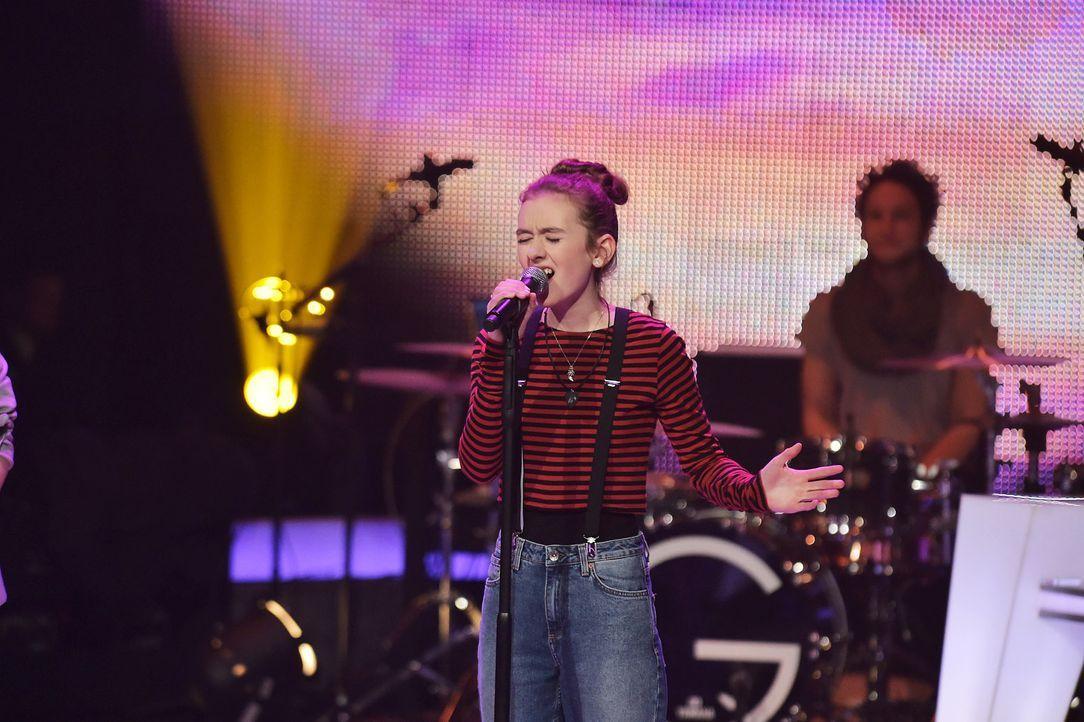 The-Voice-Kids-Stf03-Epi06-Auftritte-13-Anna-SAT1-Andre-Kowalski - Bildquelle: SAT.1/Andre Kowalski