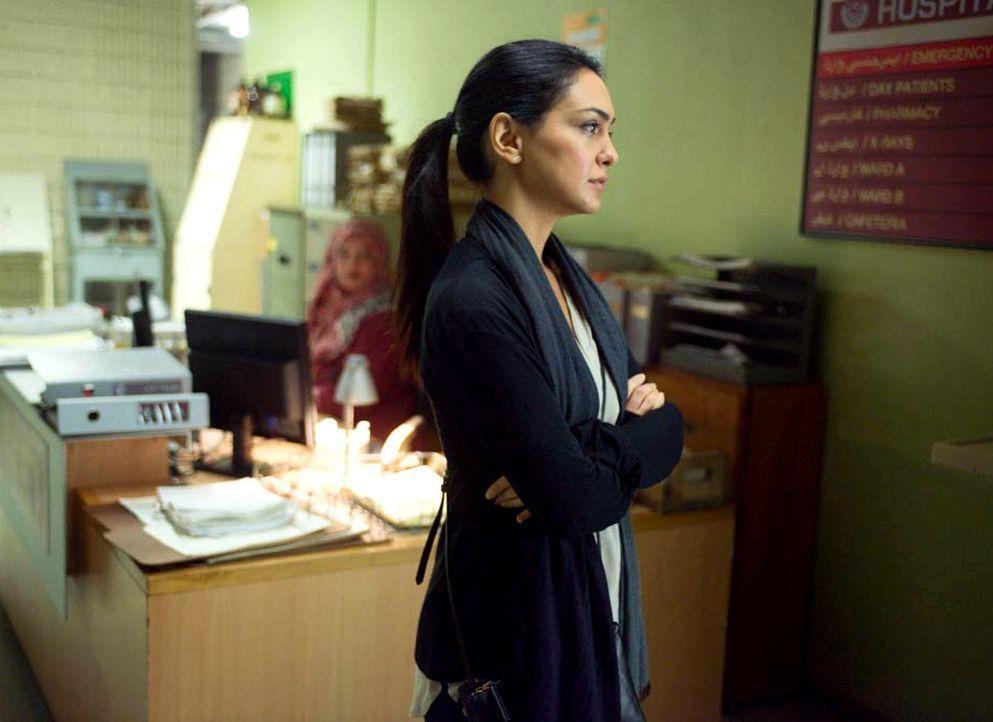Carrie, Max und Fara (Nazanin Boniadi) sind auf der Suche nach einer neuen Spur zu Haqqani, während CIA-Chef Andrew Lockhart versucht die pakistanis... - Bildquelle: 2014 Twentieth Century Fox Film Corporation