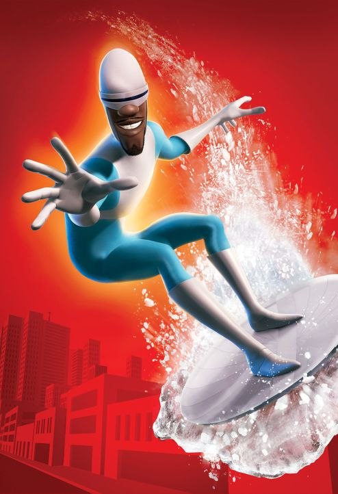 "Er ist wahrlich ein ""cooler"" Superheld: Frozone - Bildquelle: Disney/Pixar. All rights reserved"