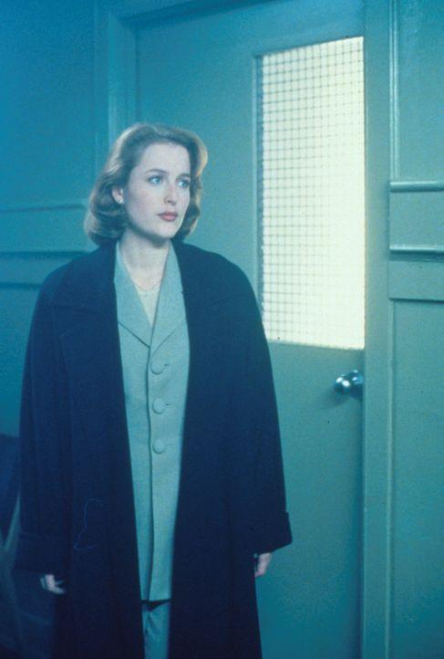 Scully (Gillian Anderson) trifft bei Nachforschungen auf eine Gruppe von Frauen, die sie angeblich alle schon kennen. - Bildquelle: TM +   2000 Twentieth Century Fox Film Corporation. All Rights Reserved.