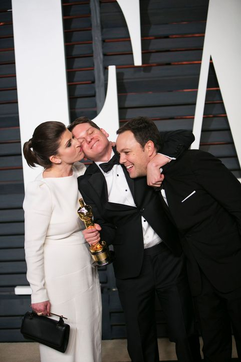 Oscars-Vanity-Fair-Party-Graham-Moore-150222-AFP - Bildquelle: AFP