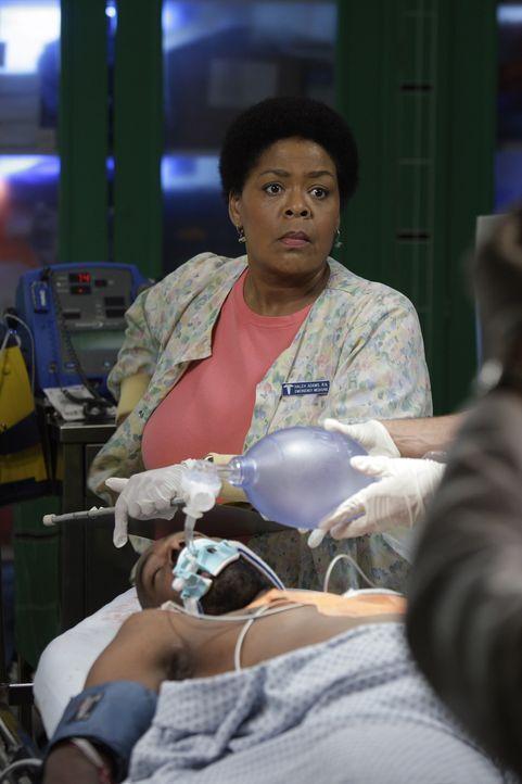 Unterstützt die Ärzte so gut sie kann: Schwester Haleh (Yvette Freeman) ... - Bildquelle: Warner Bros. Television