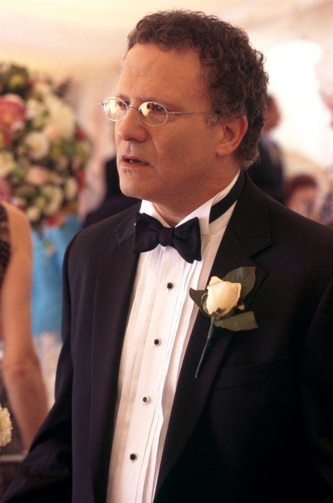 Der friedliebende und konservative Arzt Jerry Peyser (Albert Brooks) geht in den Vorbereitungen für die Hochzeit seiner Tochter Melissa voll auf. Zw... - Bildquelle: Warner Bros.