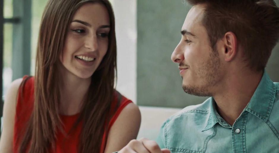 Dating eines männlichen Fitness-Modells Geeks Dating-Show