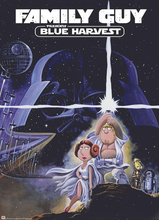 """Möge die Macht mit """"Family Guy"""" sein, der Griffin-Clan dreht die größte Science-Fiction-Saga aller Zeiten durch die Mangel ... - Bildquelle: TM +   Twentieth Century Fox Film Corporation. All Rights Reserved."""