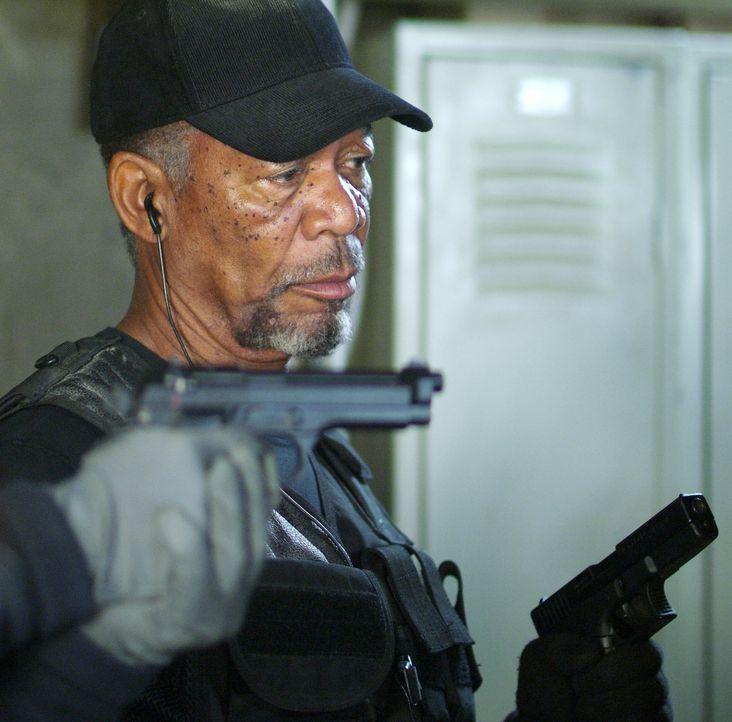 Braucht für einen neuen Coup einen Partner: Kunstdieb Keith Ripley (Morgan Freeman) ... - Bildquelle: Nu Image