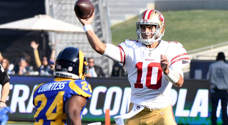 Jimmy Garoppolo (San Francisco 49ers) - Bildquelle: imago/ZUMA Press