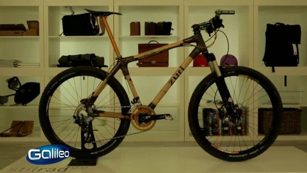Sambia Bambus-Bike