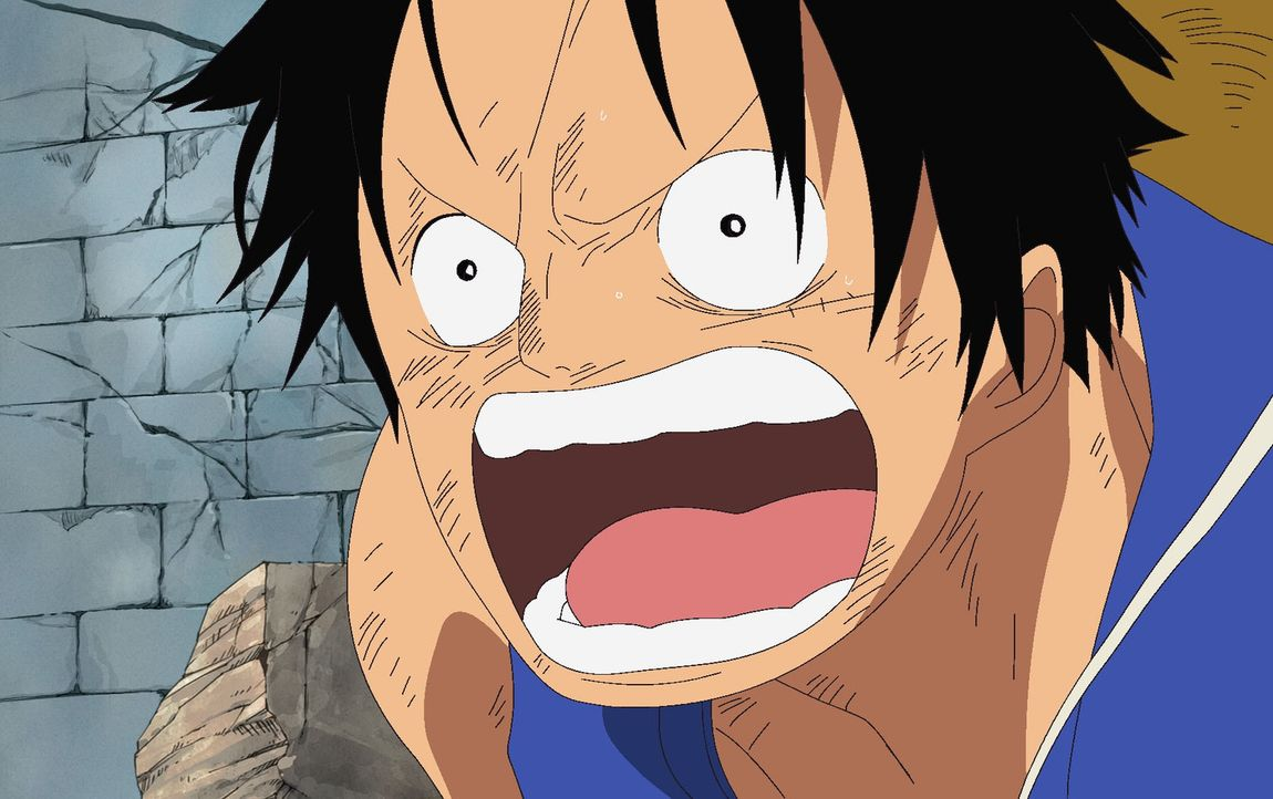 Jetzt sieht es wirklich düster aus für die Strohhut-Bande. Den Angriffen der... - Bildquelle: Eiichiro Oda/Shueisha, Toei Animation