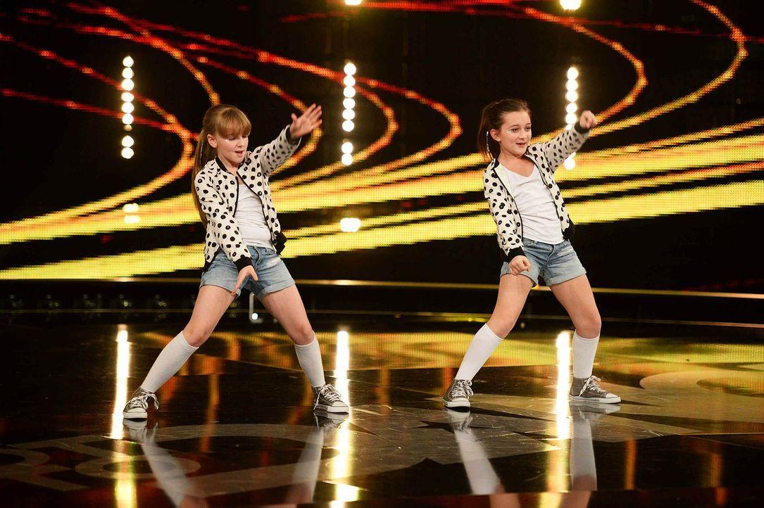 Got-To-Dance-Delia-Viktoria-05-SAT1-ProSieben-Willi-Weber - Bildquelle: SAT.1/ProSieben/Willi Weber