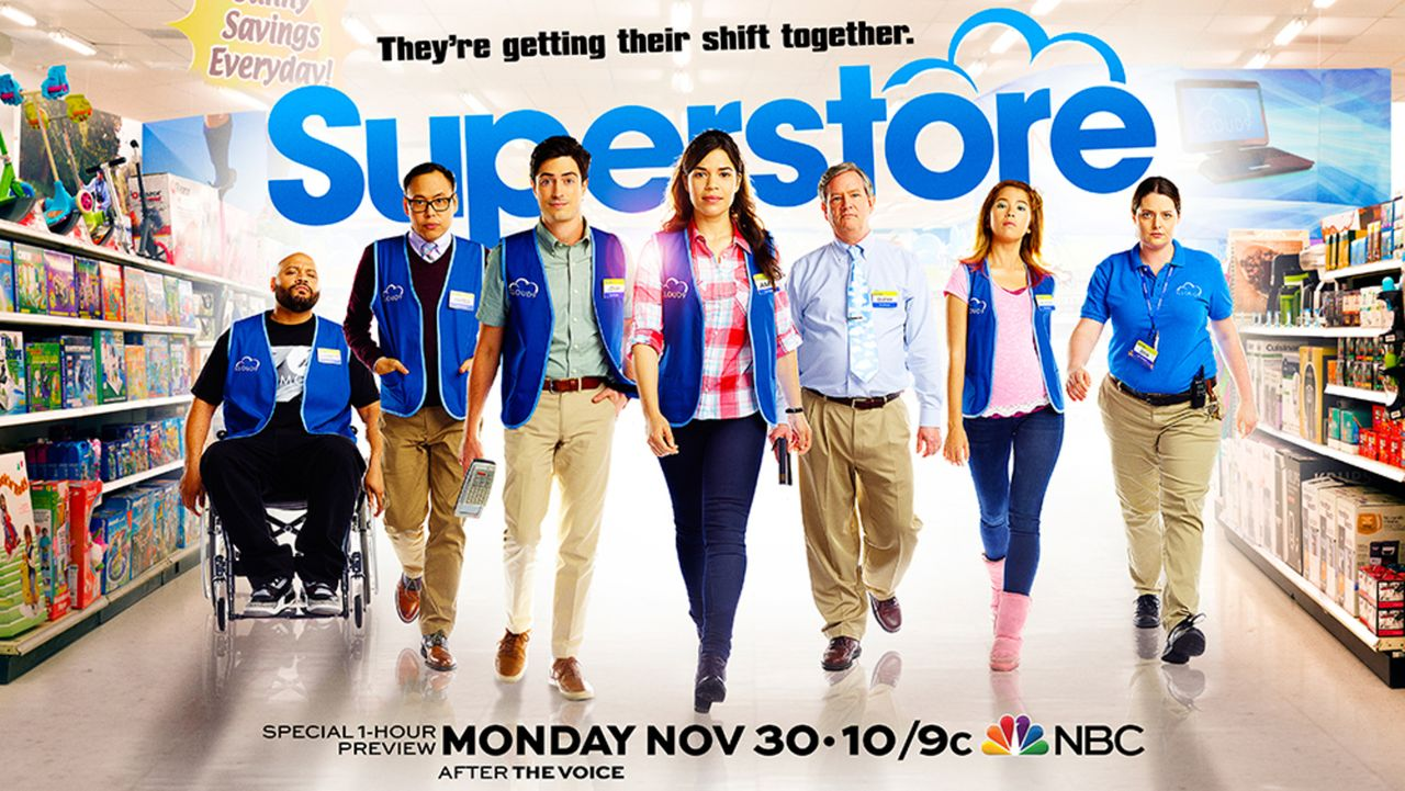 Superstore - Plakat - Bildquelle: 2015 Universal Television LLC. ALL RIGHTS RESERVED.