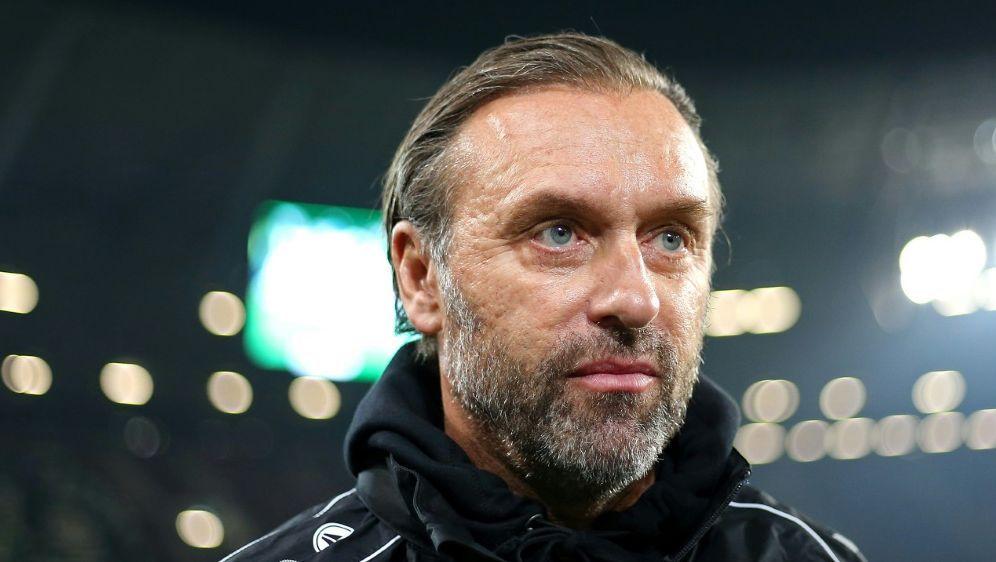 Trainer Thomas Doll erwartet Punkte von seinem Team - Bildquelle: PIXATHLONPIXATHLONSID