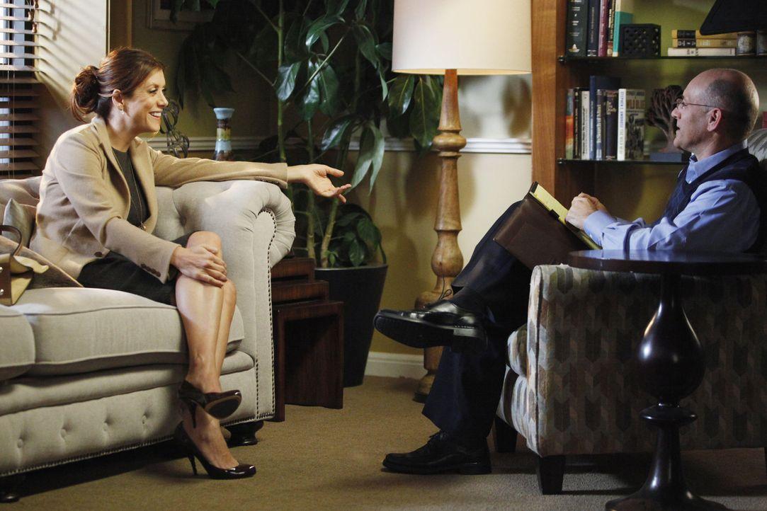 Sheldon erfährt, dass Amelia Neuigkeiten hat, die ihr Leben verändern werden, während Addison (Kate Walsh, l.) bei ihrem Therapeuten (Scott Alan... - Bildquelle: ABC Studios