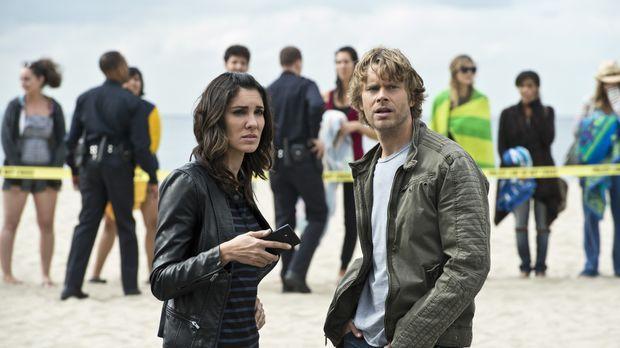 Ein neuer Fall wartet auf Kensi (Daniela Ruah, l.) und Deeks (Eric Christian...