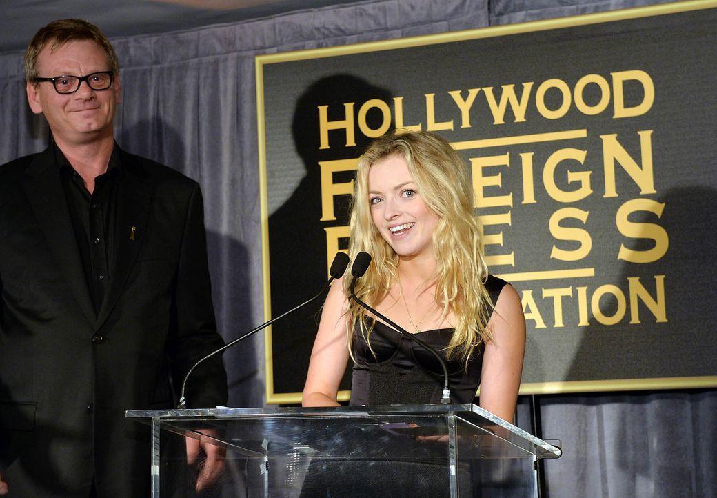 Miss-Golden-Globe-Francesca-Eastwood-13-11-21-getty-AFP - Bildquelle: getty-AFP