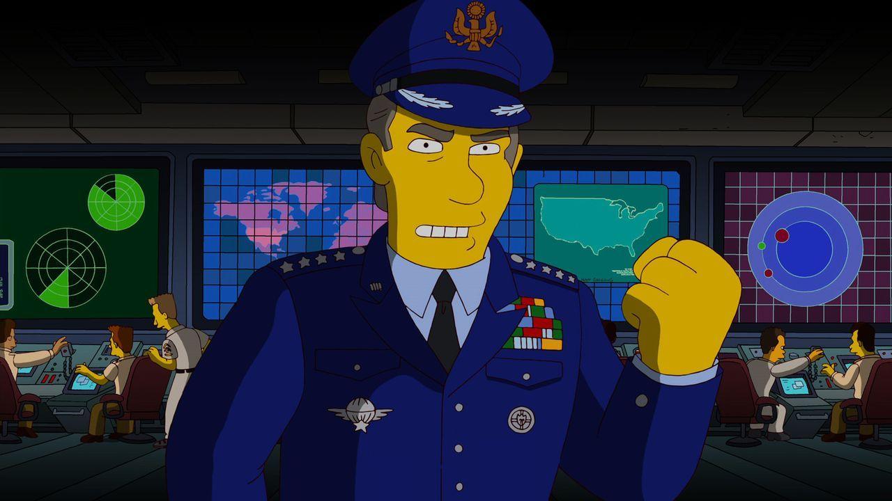 Damit ihr Urlaub nicht zu Ende geht, hat Bart eine Idee, bei der Treat Williams eine große Rolle spielt ... - Bildquelle: und TM Twentieth Century Fox Film Corporation - Alle Rechte vorbehalten