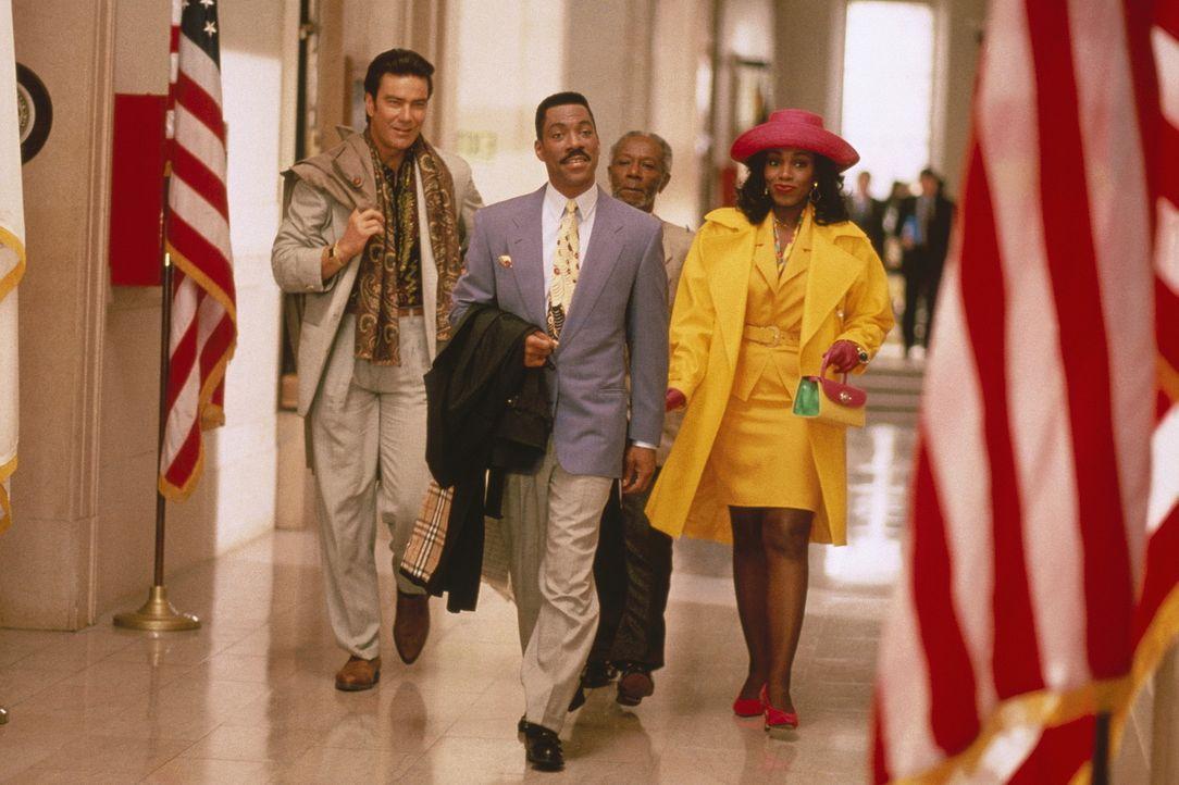 """Die bewährten Gaunerkollegen (v.l.n.r.) Loretta (Sheryl Lee Ralph), Van Dyke (Sonny """"Jim"""" Gaines) und Armando (Victor Rivers, r.) stehen dem frischg... - Bildquelle: Buena Vista Pictures"""