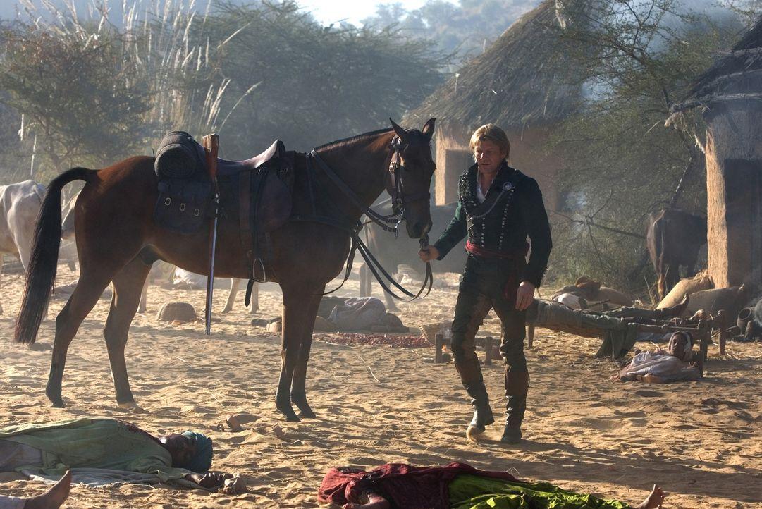 1817: Als die Tochter eines Generals entführt wird, erhält Richard Sharpe (Sean Bean) von Wellington persönlich einen neuen Auftrag. Er soll sie... - Bildquelle: Copyright BBC 2006