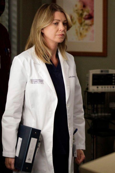 Versucht noch immer, mit den Folgen des Flugzeugabsturzes klarzukommen: Meredith (Ellen Pompeo) ... - Bildquelle: ABC Studios