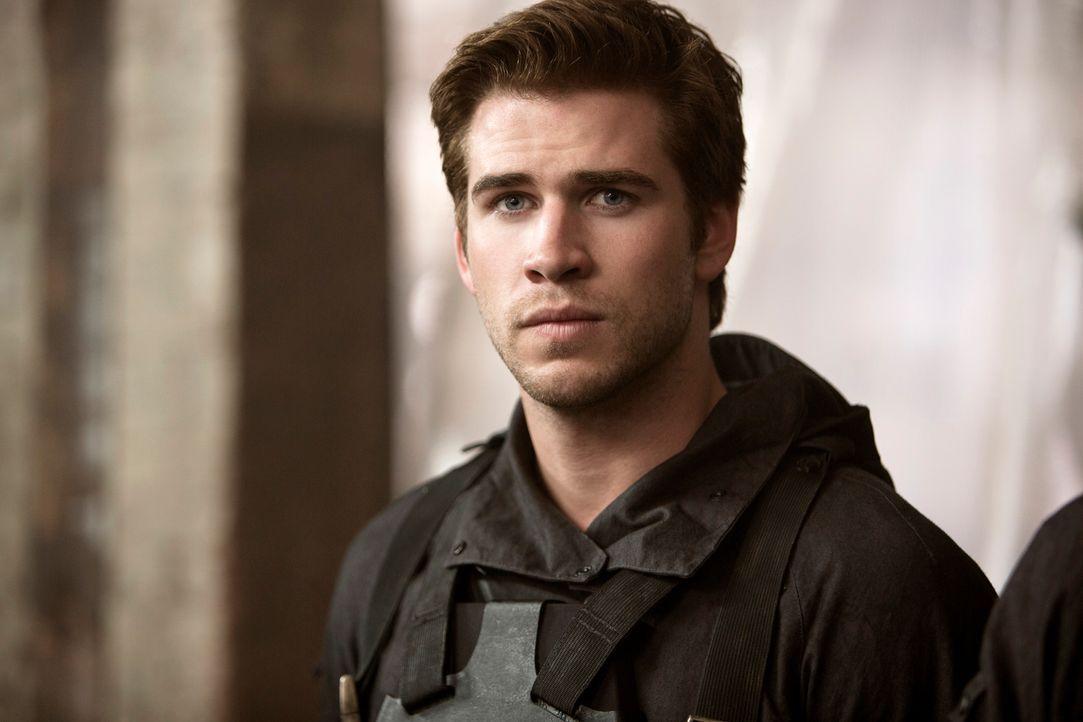 Liam-Hemsworth-The-Hunger-Games-Mockingjay1-Studiocanal-GmbH-Murray-Close - Bildquelle: Studiocanal GmbH / Murray Close
