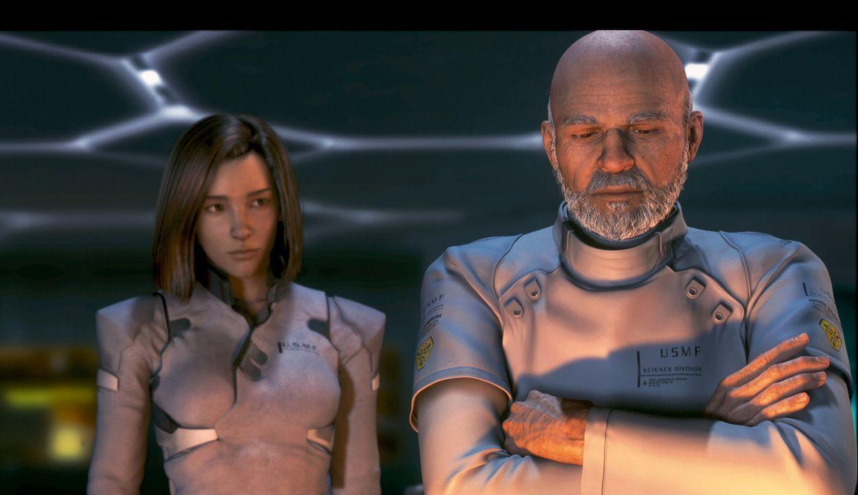 Im Jahr 2065 ist die Erde nach einem Meteoriteneinschlag total verwüstet und von Alien-Phantomen besiedelt. Diese entziehen allen noch lebenden Wese... - Bildquelle: 2003 Sony Pictures Television International. All Rights Reserved.