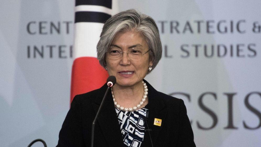 Südkoreas Außenministerin Kang Kyung-wha - Bildquelle: AFPSID-NICHOLAS KAMM