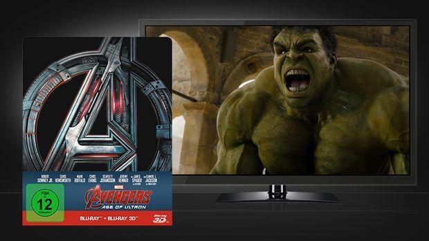 Avengers - Age Of Ultron 3D Steelbook © Walt Disney Studios