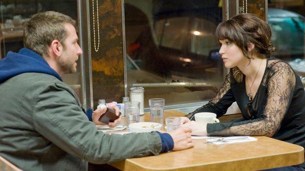 Verabreden sich zu einem Nicht-Date bei Haferflockenbrei: Pat (Bradley Cooper...